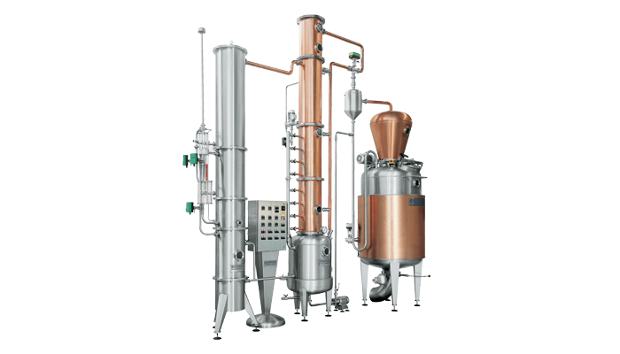 Distillatore Discontinuo